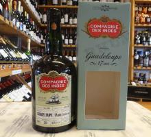 Rhum COMPAGNIE DES INDES Guadeloupe 17ans